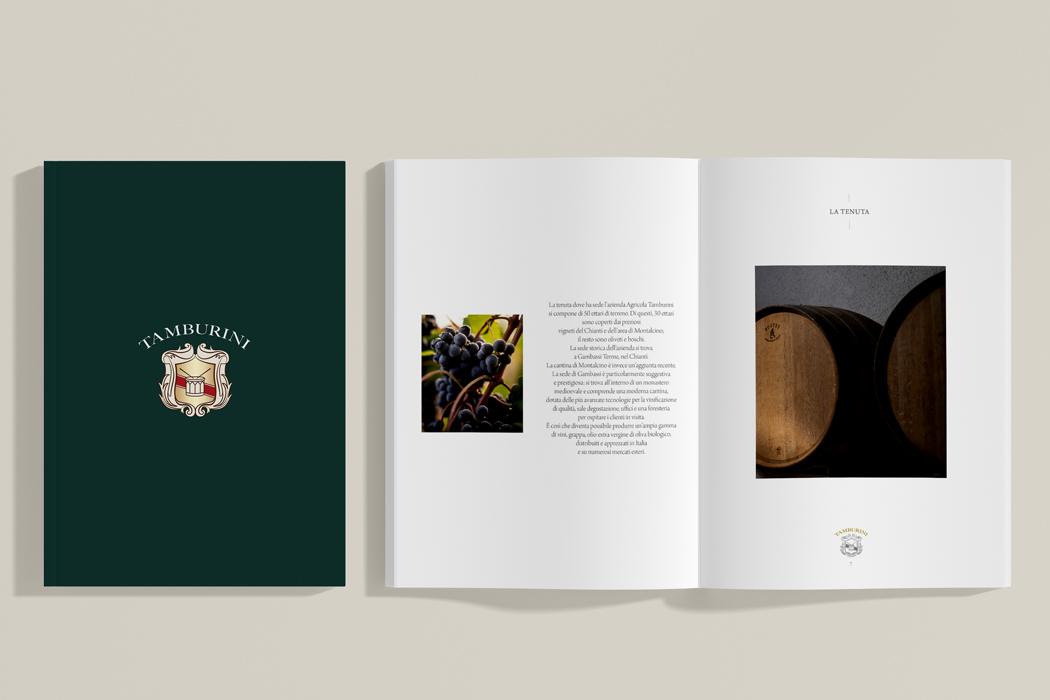 Tamburini – company profile e packaging