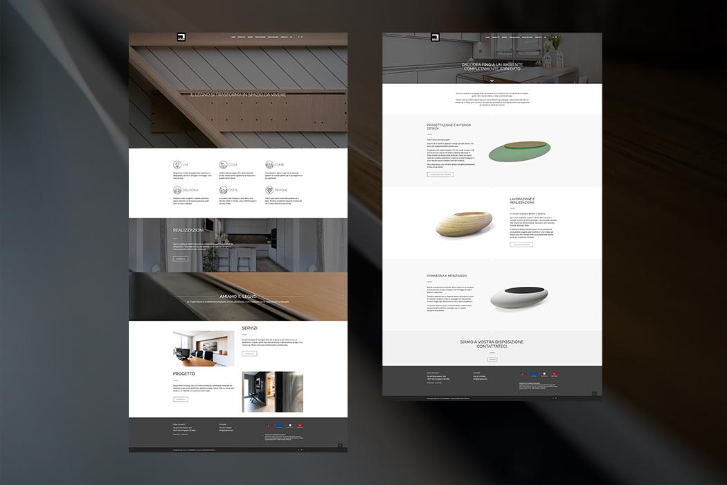 Design Wood – website