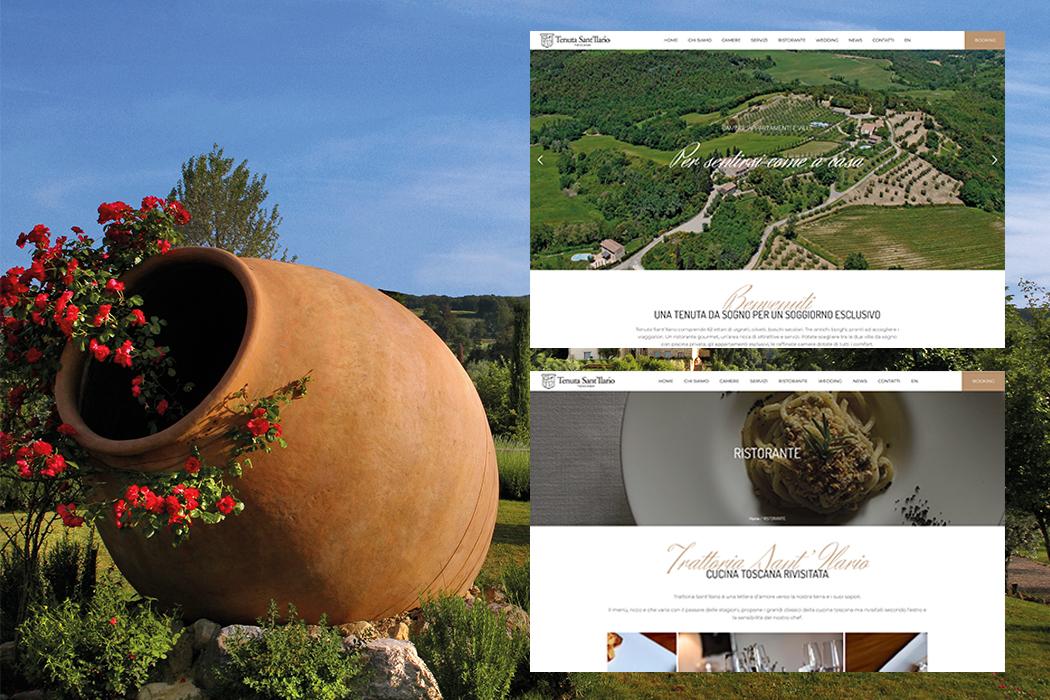 Tenuta Sant'Ilario – website